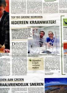 20120630-Kraanwater-in-Telegraaf