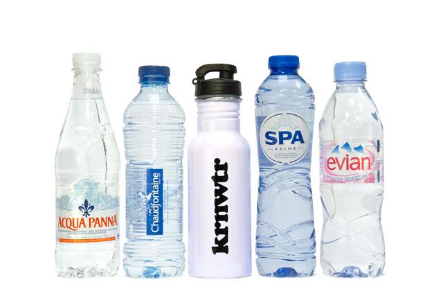 drinkflessen bronwater