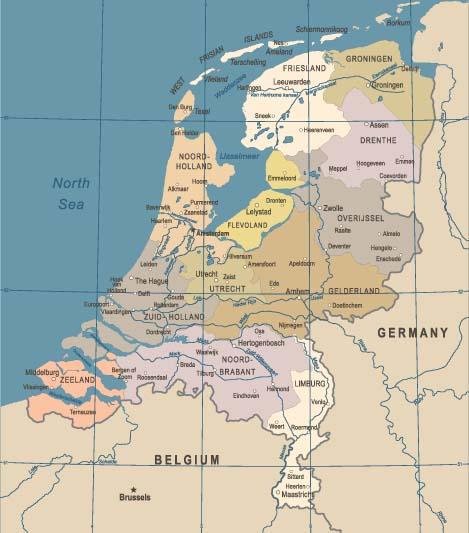 Hoe Hoog Ligt Jouw Dorp Of Stad Hoogtekaart Van Nederland