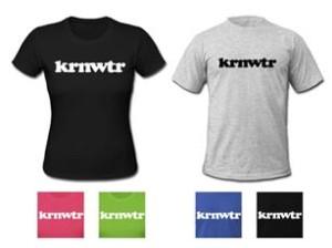 KRNWTR t-shirts