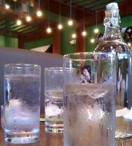 Waterkan, waterfles, kraanwater, horeca