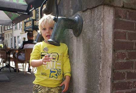 aantal liter water per dag