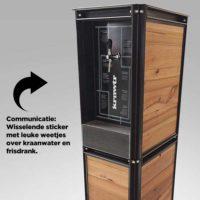 Communicatie sticker watertappunt