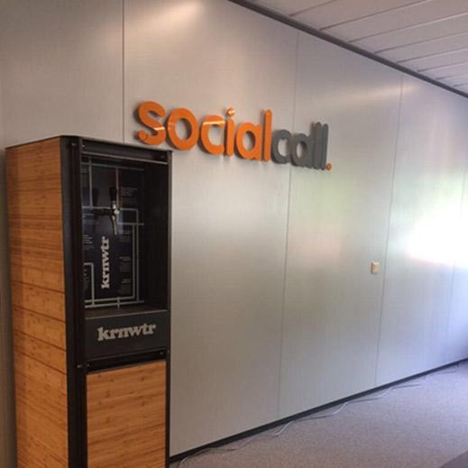 waterdispenser social call kantoor