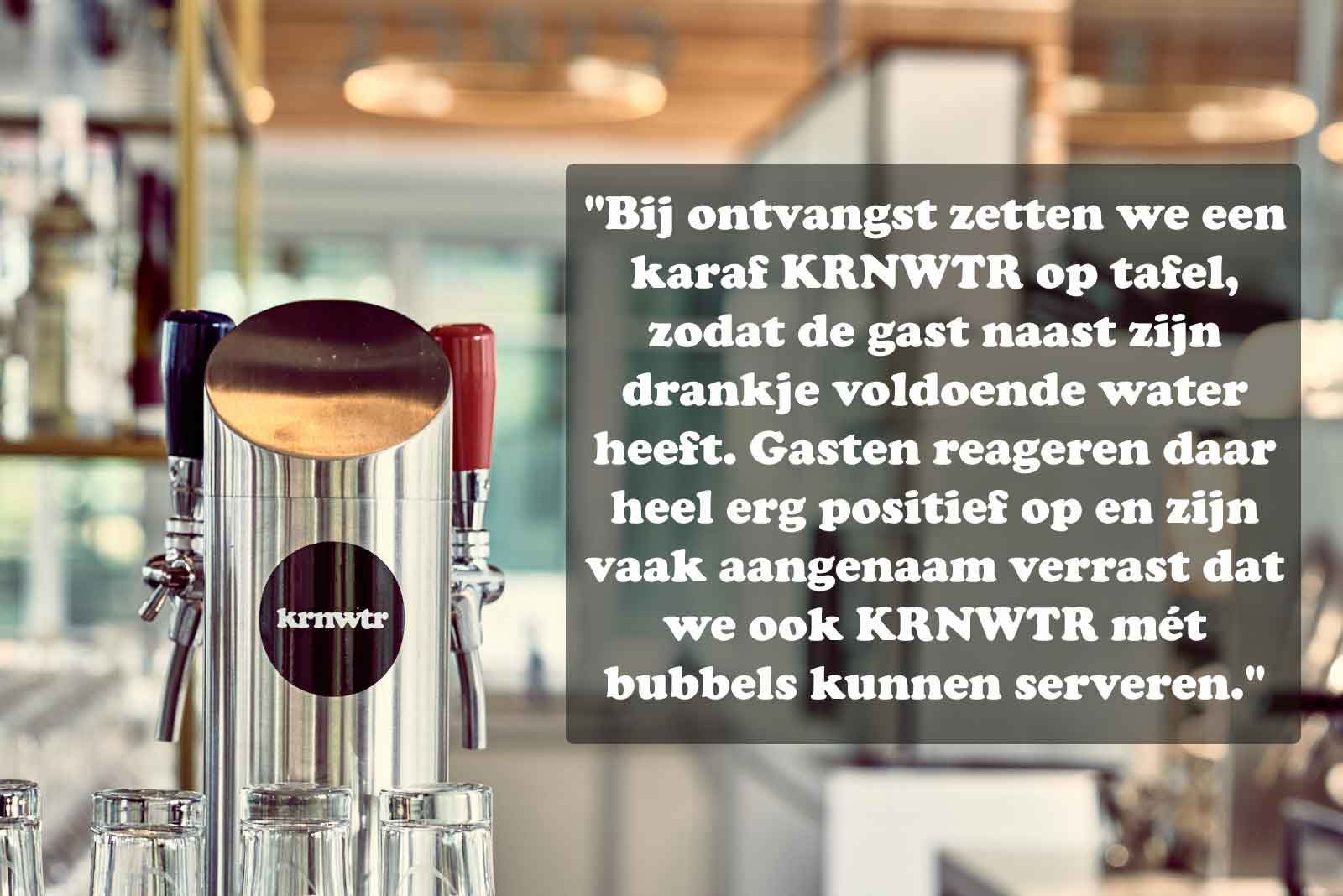 KRNWTR-waterkoeler-in-de-horeca-Restaurant-wijn