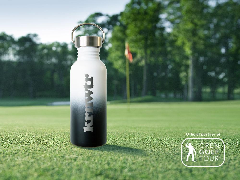 Open Golf Tour plastic flesjes vrij