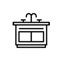 Waterkoeler-keukenkastje-kantoor