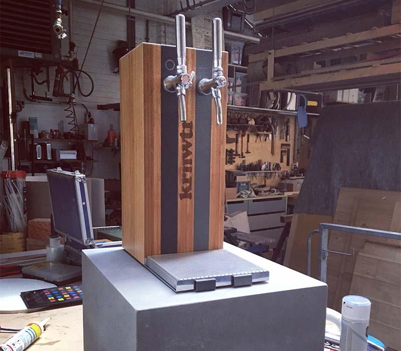 Waterkoeler-tafelmodel-underconstruction